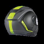 Hikari-JM-Matt-Black-Fluro-Helmet-Kabuto-Back-Side-800×800